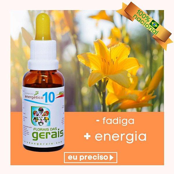 Composto Floral N° 10 Energético 30ml
