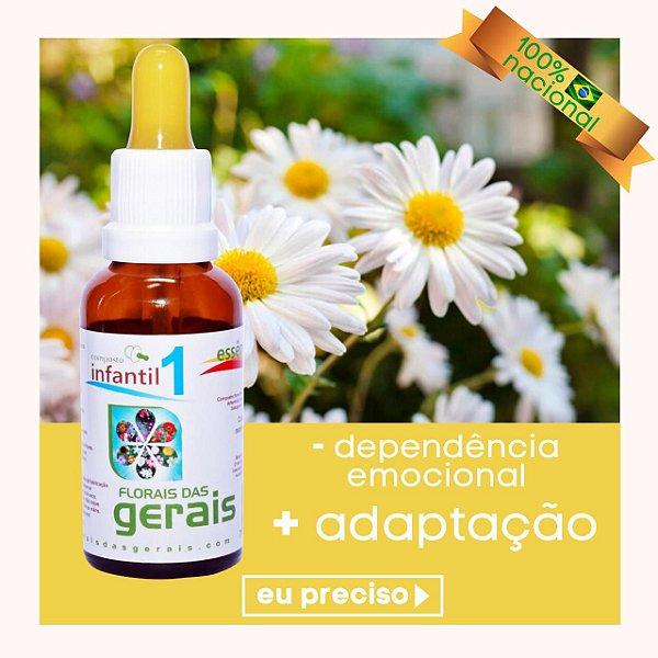 Composto Floral N° 1 Infantil 30ml