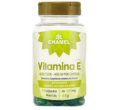 Vitamina E 400 UI 60 caps 750mg