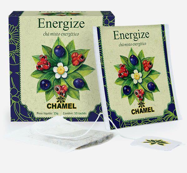 Energize chá misto Energético sachê