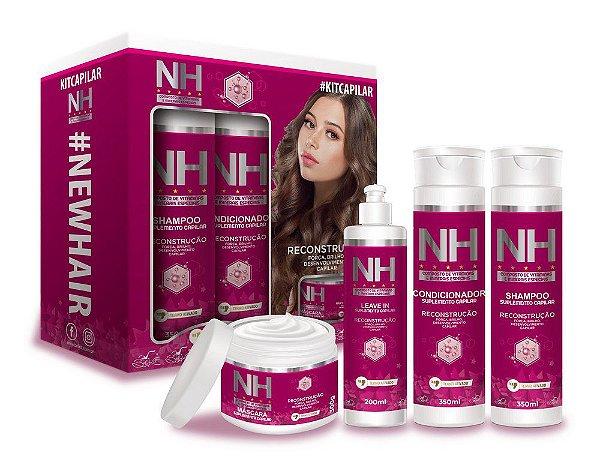 New Hair Kit Capilar Reconstrução 4 itens Belkit