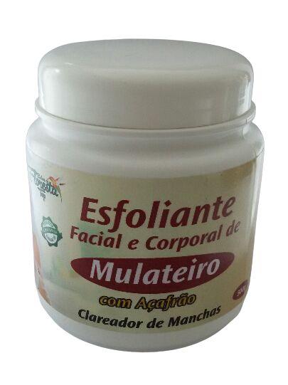 Esfoliante Facial e Corporal de Mulateiro com AÇafrão 500g