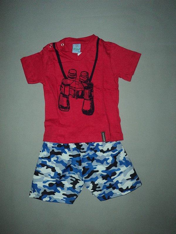 Conjunto Camiseta e Bermuda