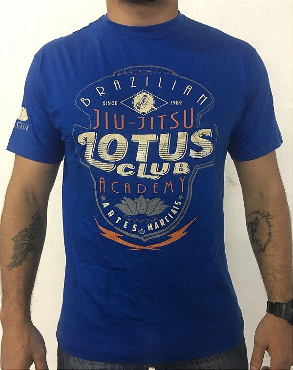 Camiseta Lotus Azul