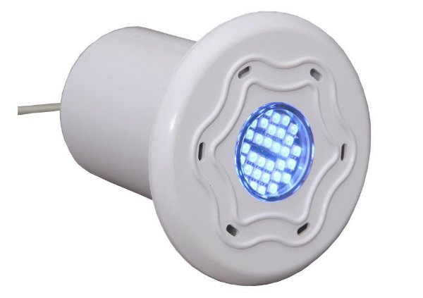 Iluminação de Piscina Refletor Monocromático 36 Led