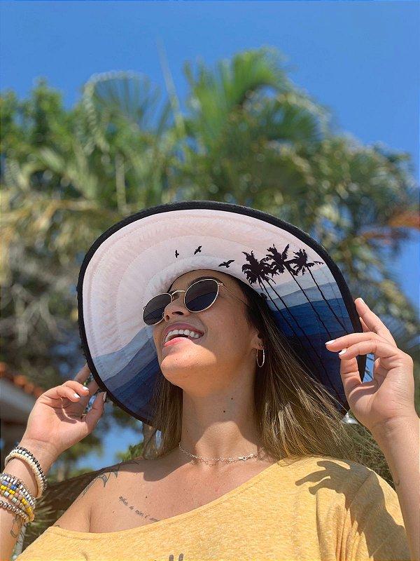 Chapéu de Palha - Azul Coqueiros