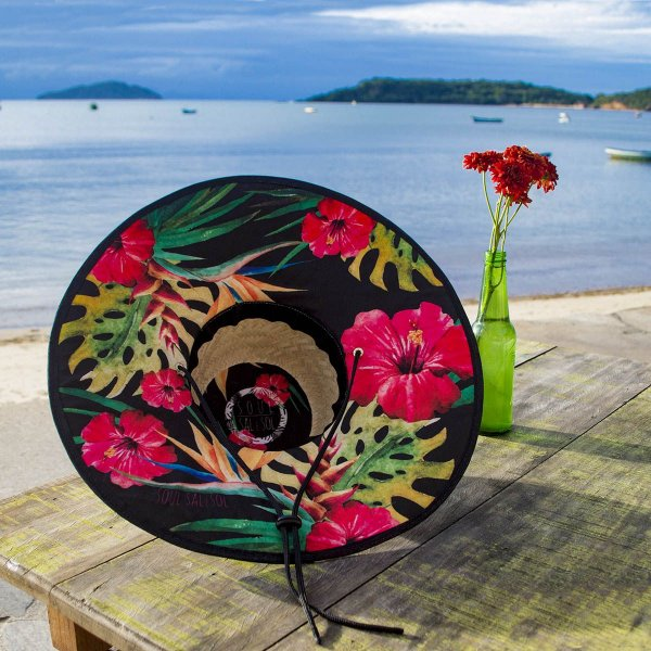 Chapéu de Palha - Hibisco - Loja Soul Sal e Sol 25103ba0598