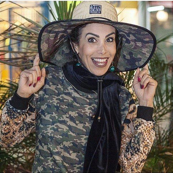 Chapéu de Palha - Camuflado