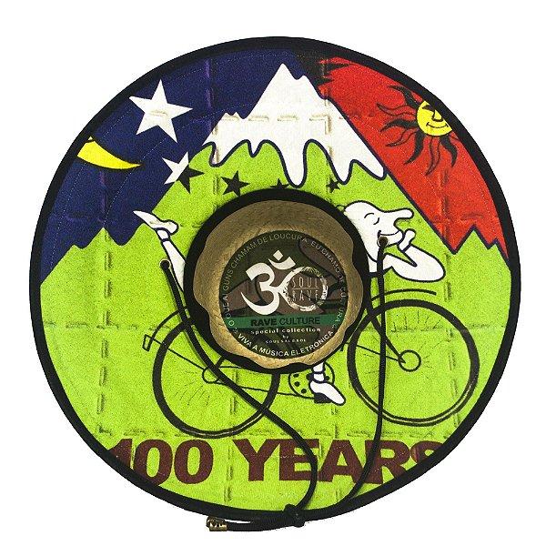 Chapéu de Palha - Bike 100 years