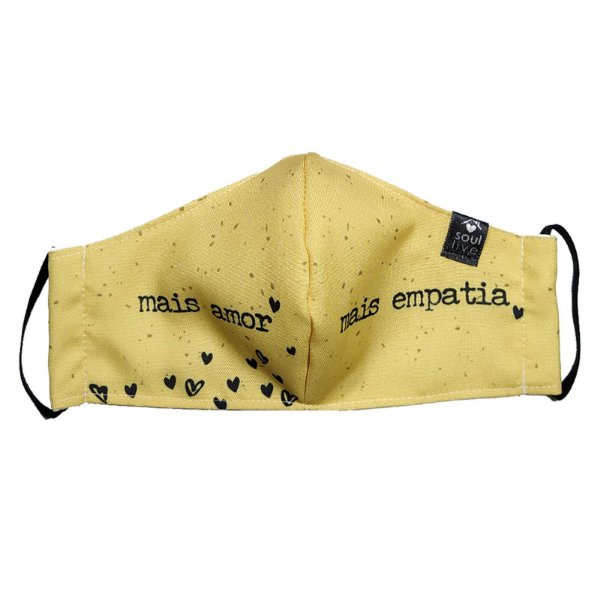 Máscara de Proteção - Mais Amor Mais Empatia