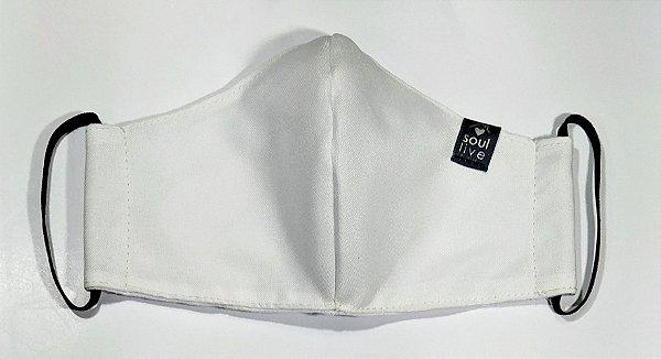 Máscara de Proteção - Branca Lisa