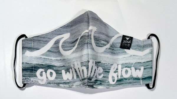Máscara de Proteção - Go With the flow