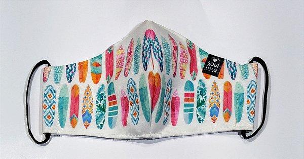 Máscara de Proteção - Pranchinhas