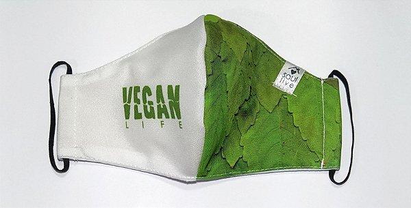 Máscara de Proteção - Vegan Life