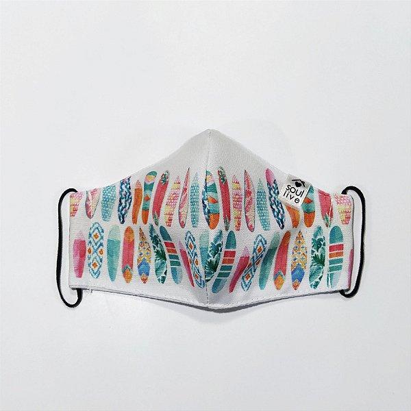 Máscara de Proteção Infantil - Pranchinhas