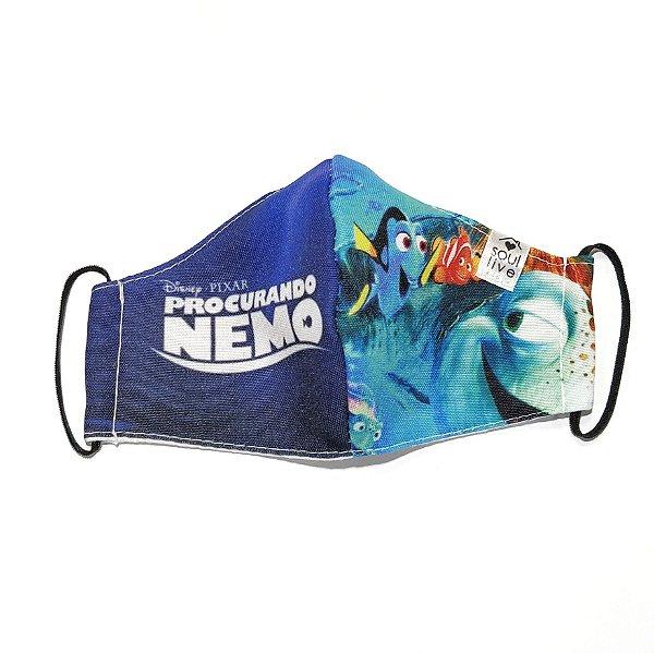Máscara de Proteção Infantil - Nemo