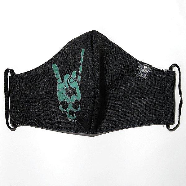 Máscara de Proteção - Caveira Hangloose