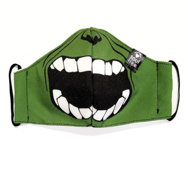 Máscara de Proteção Infantil - Hulk