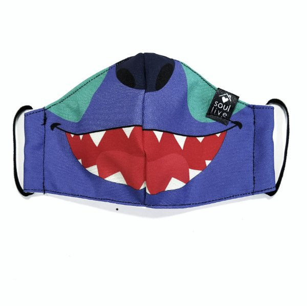 Máscara de Proteção Infantil - Stitch (Lilo)