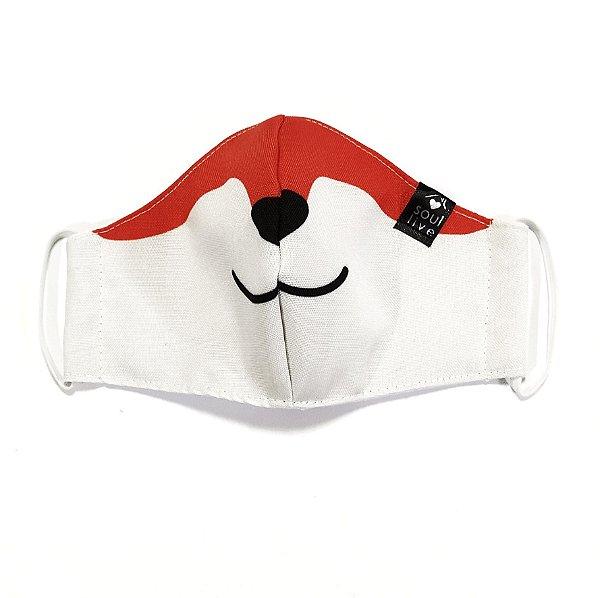 Máscara de Proteção Infantil - Raposinha
