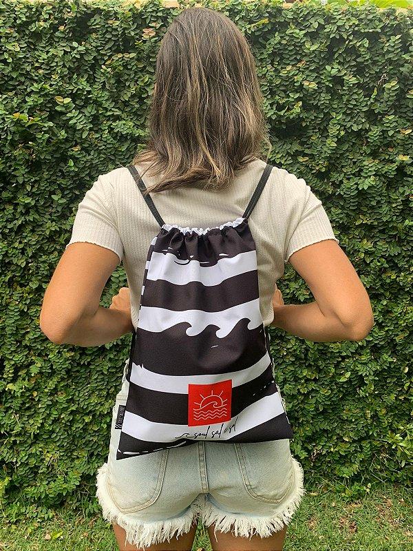 Bag/ Sacochila Listrada P/B
