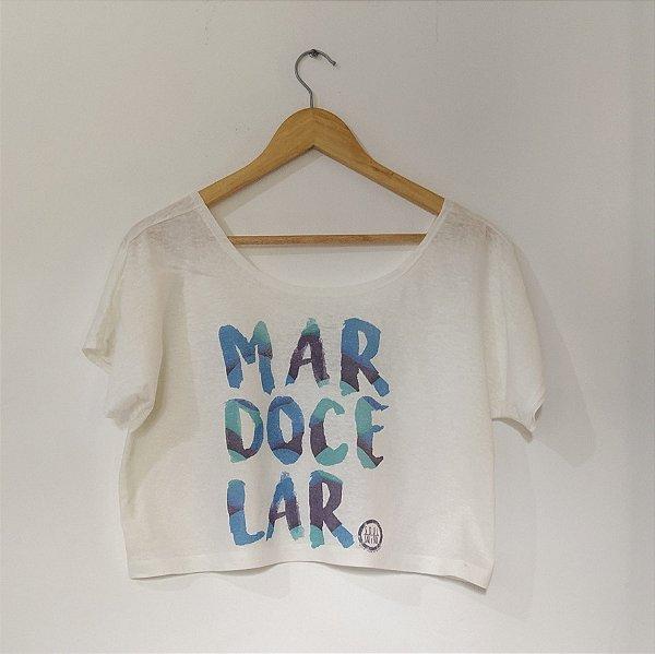 Cropped Adulto - MAR DOCE LAR