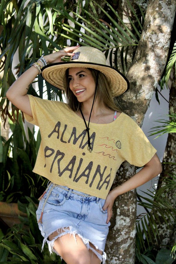 Cropped Adulto - Alma Praiana