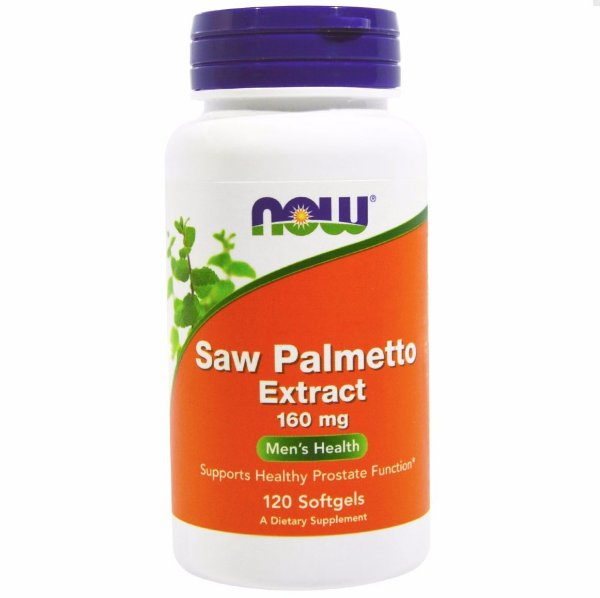Saw Palmetto Extract 160 Mg - 120caps Now Foods Importado