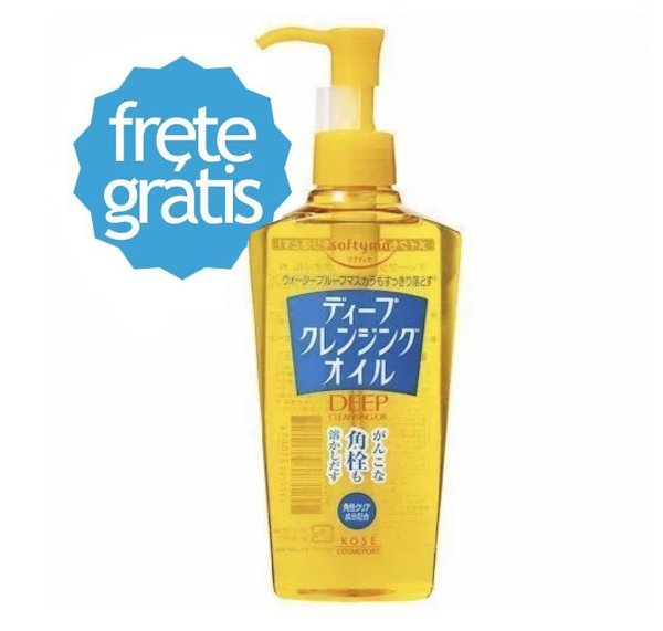 Demaquilante Kose Softymo Deep Cleansing Oil