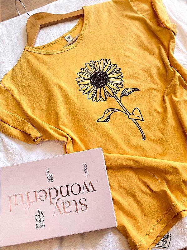 T-shirt sunflower
