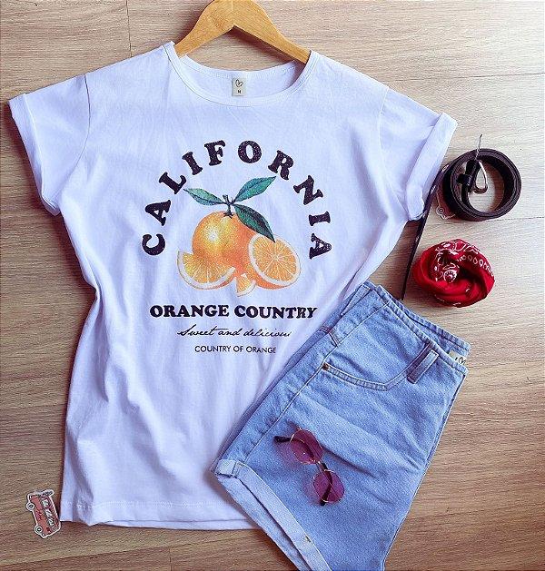 T-shirt max CALIFORNIA ORANGE COUNTRY