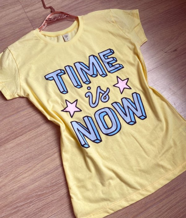 T-shirt TIME IS NOW