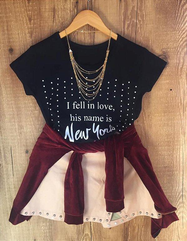 T-shirt NEW YORK I FELL IN LOVE