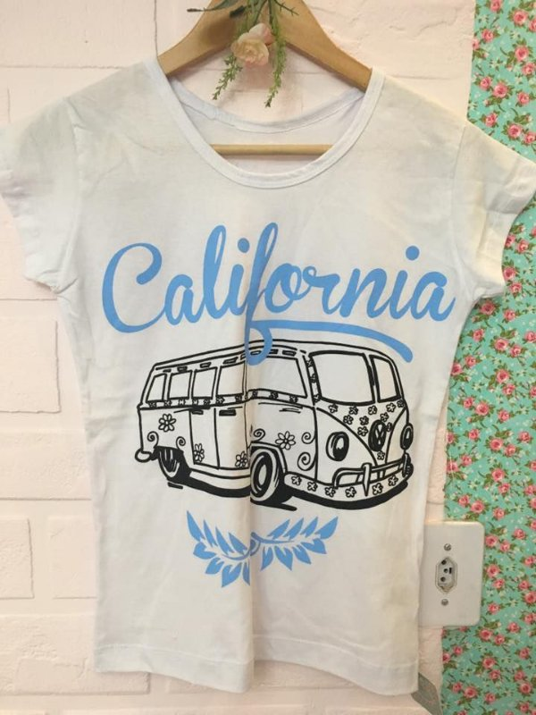 T-shirt California Kombi