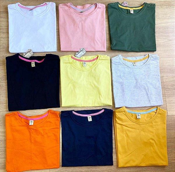 T-shirt Marrie POP  basic gola ''o''