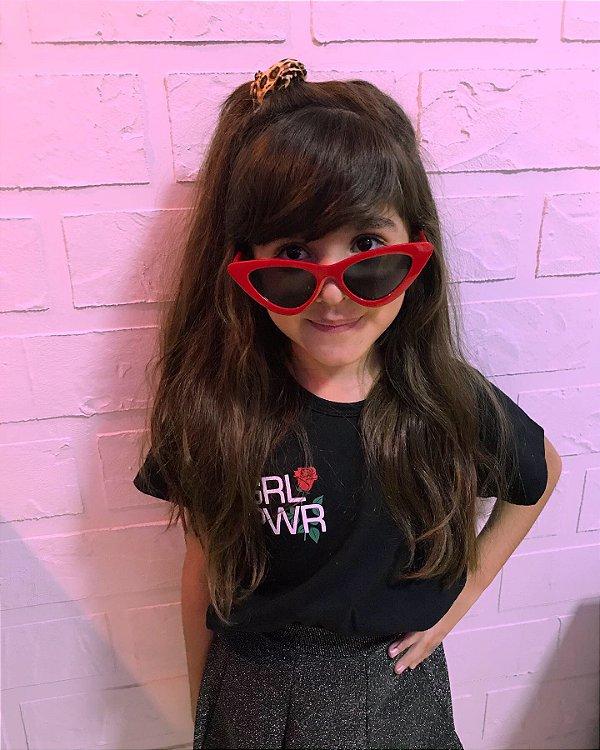 T-shirt  Marriezinha Glr pwr rosas