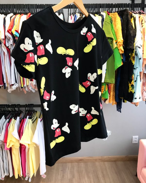 T-shirt Mickey print