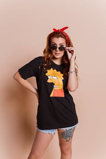 T-shirt  max LISA SIMPSONS