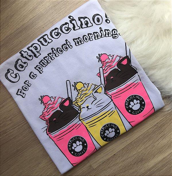 T-shirt Catpuccino