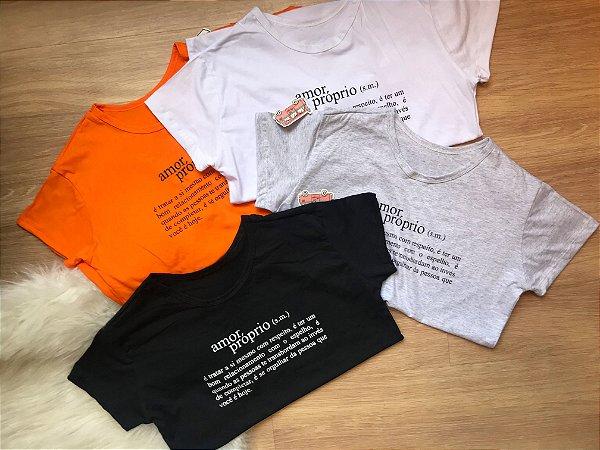 T-shirt AMOR PRÓPIO