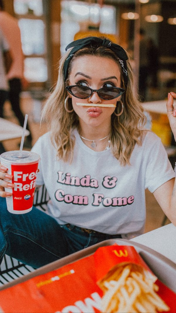 T-shirt Max Linda & com fome