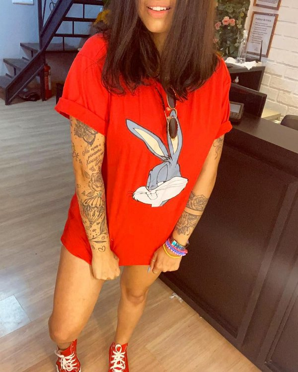 T-shirt MAX PERNALONGA