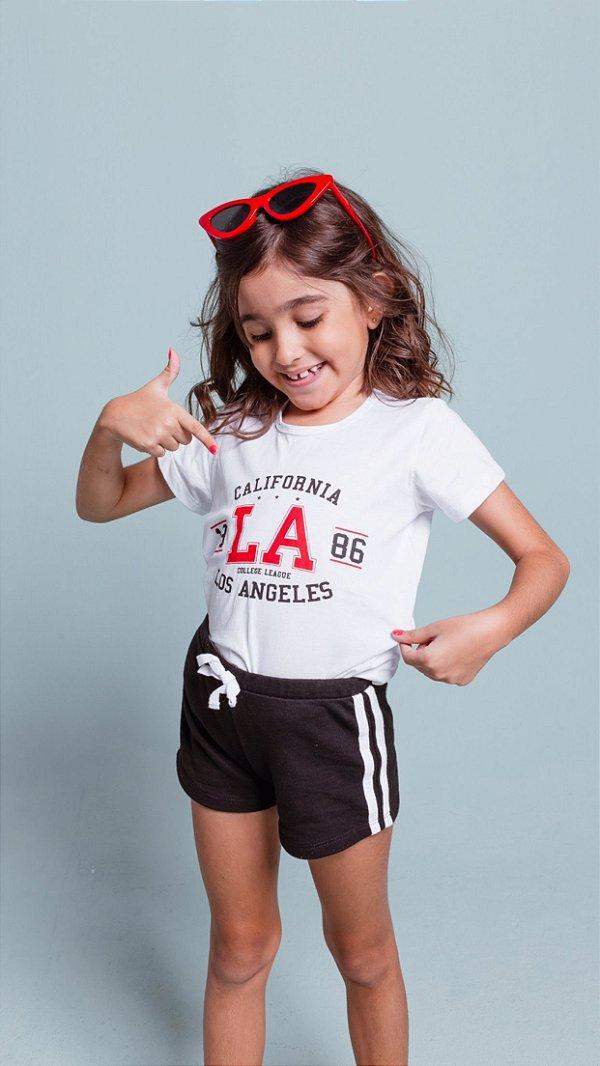 T-shirt marriezinha L.A college