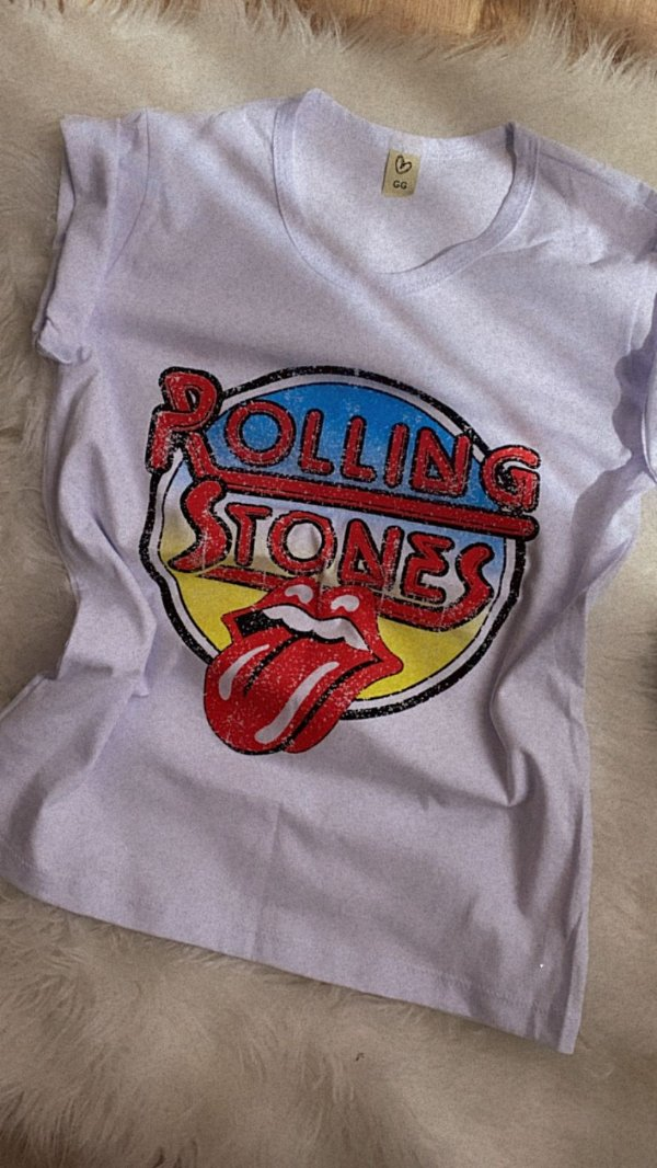 T-shirt MARRIEZINHA ROLLING STONES