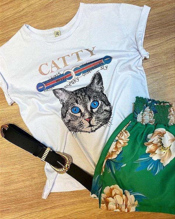 T-shirt comum  CATTY