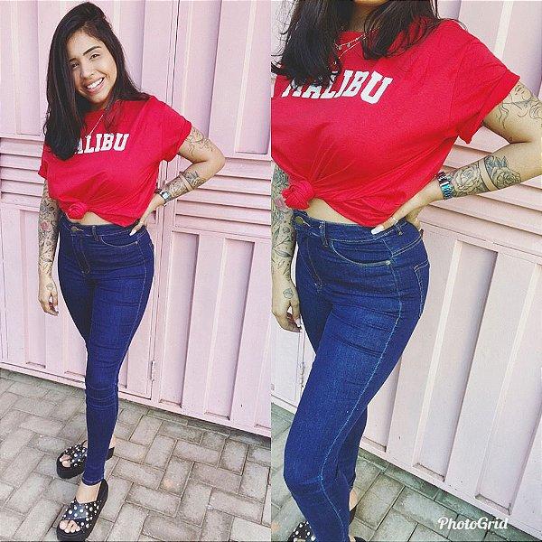 Calça jeans  SKINNY BASIC AZUL INTENSO