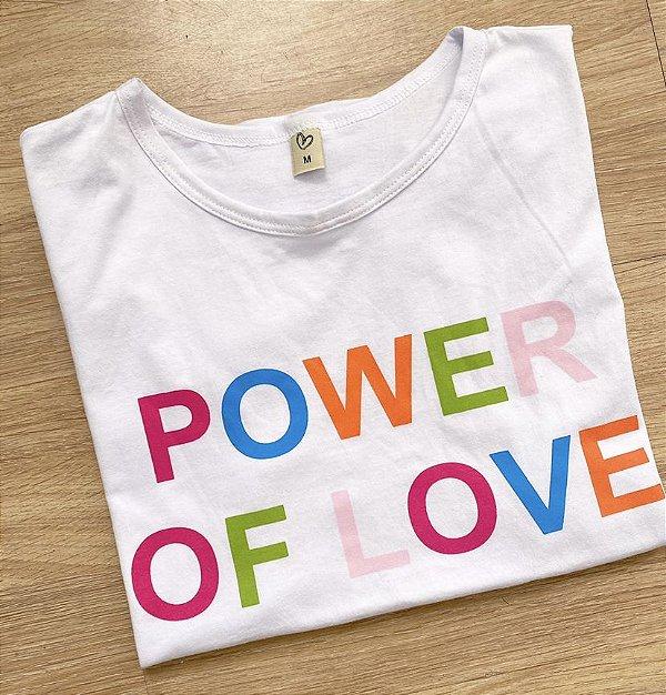 T-shirt power of love
