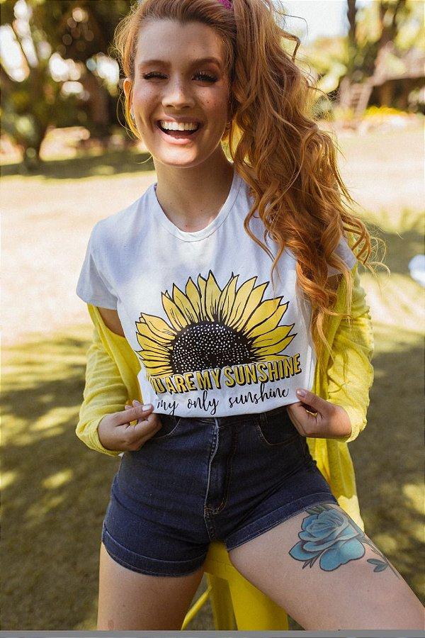 T-shirt comum SUNSHINE