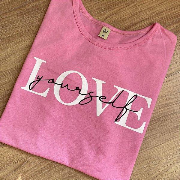 T-shirt LOVE YOURSELF