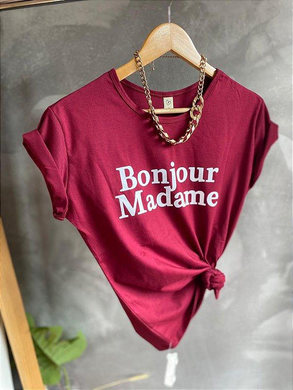 T-shirt BONJOUR MADAME